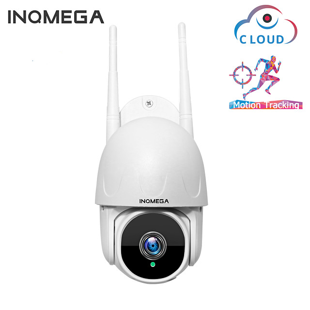 INQMEGA 1.5 Inch Cloud 1080P PTZ Speed Dome Wifi Camera Outdoor 2MP Auto-Tracking Camera Wireless Camera Home Surveillance IP Cam