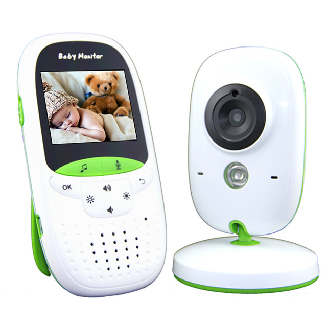 Baby Monitor 720P 2 HD Display Video Baby Monitor with Camera and Audio IPS Screen 850ft Range 4500 mAh Battery Two-Way Audio One-Click Zoom Night Vision and Thermal Monitor