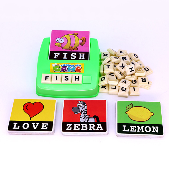 Educational Flash Card Plastic Kids Cute Easy to Carry Youth 1 pcs 6-12 Y