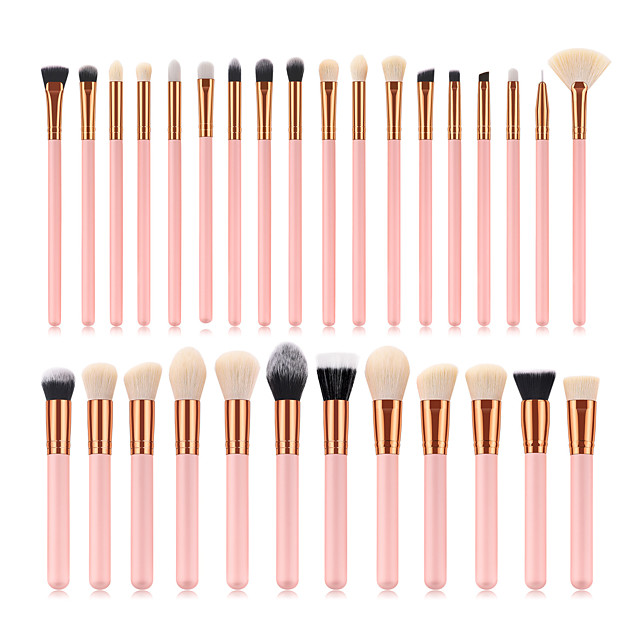 Professional Makeup Brushes 30pcs Professional Cute Full Coverage Adorable Comfy Artificial Fibre Brush Wooden / Bamboo for Eyeliner Brush Blush Brush Foundation Brush Makeup Brush Eyeshadow Brush