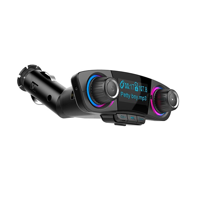BT06 Bluetooth V4.0 Car FM Transmitter Music Car MP3 Player Hands free Radio Adapter Kit support TF AUX with Dual USB Charger
