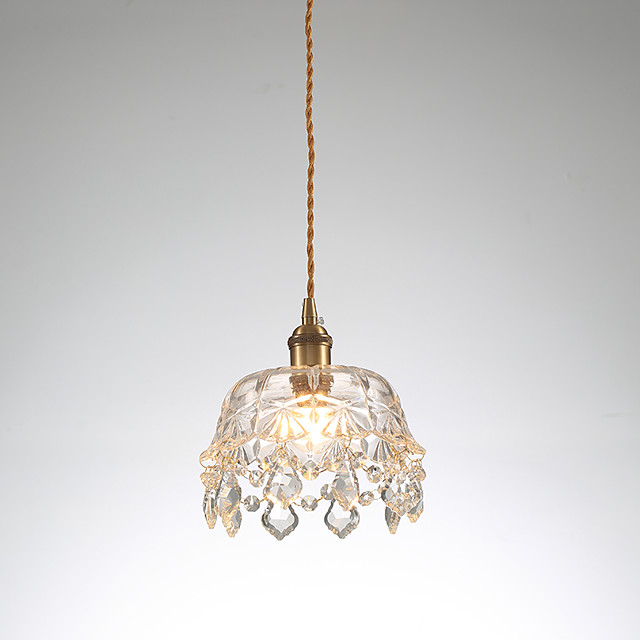 1-Light 19 cm Mini Style Pendant Light Copper Mini Electroplated Artistic / Chic & Modern 110-120V / 220-240V