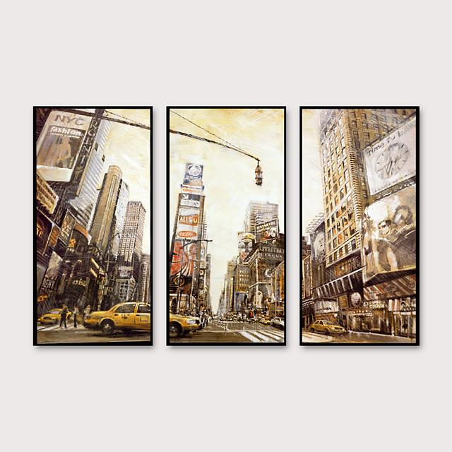 Framed Art Print Framed Set - Landscape PS Oil Painting Wall Art