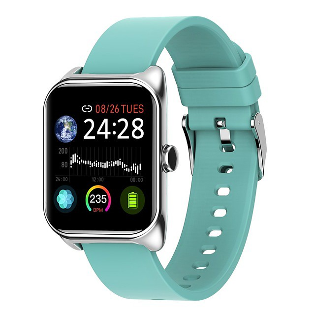 B58 Smartwatch for Apple/ Samsung/ Android Phones Support Heart Rate Monitor/ Blood Pressure Measurement Bluetooth Fitness Tracker