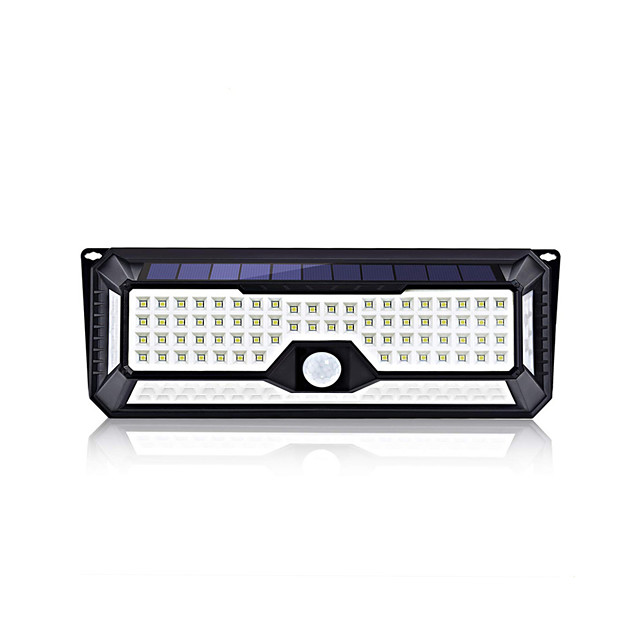 BRELONG Solar Outdoor Lights 136LEDs Wall Light Infrared Body Sensor Light IP44 Waterproof for Courtyard Garden Community