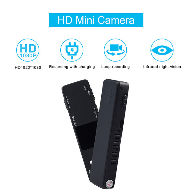 1080P HD Mini Camera Infrared Night Vision IP Camera For Home Portable Surveillance Cameras USB Battery Security Camera Kamer