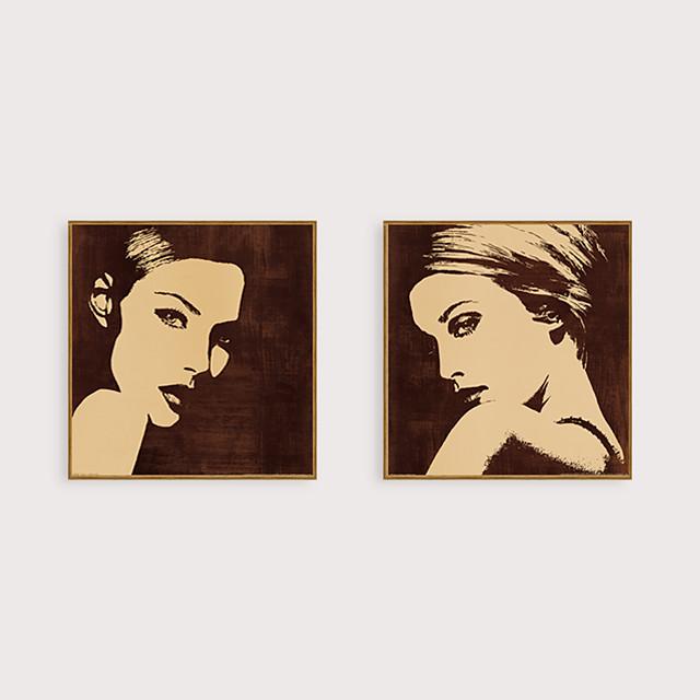 Framed Art Print Framed Set - People PS Oil Painting Wall Art