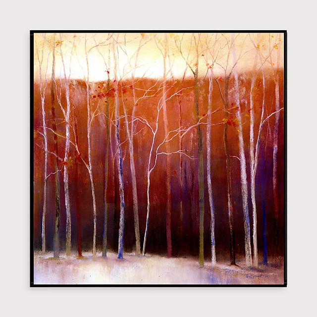 Framed Art Print Framed Set - Landscape Floral / Botanical PS Oil Painting Wall Art