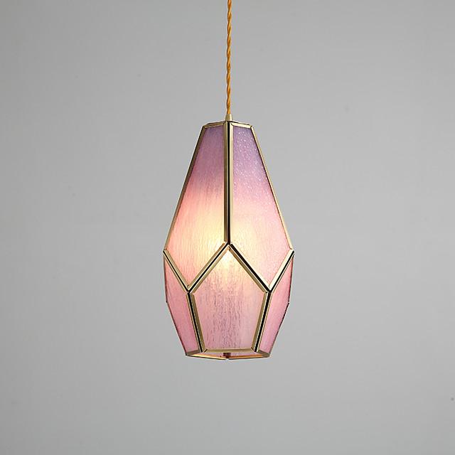 1-Light 16 cm Mini Style Pendant Light Copper Mini Electroplated Artistic / Chic & Modern 110-120V / 220-240V