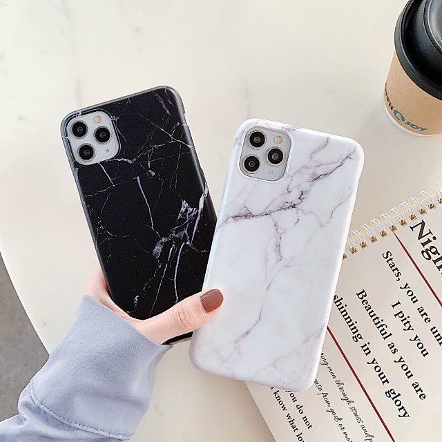 Case For Apple iPhone 11 / iPhone 11 Pro / iPhone 11 Pro Max Shockproof / IMD Back Cover Marble TPU