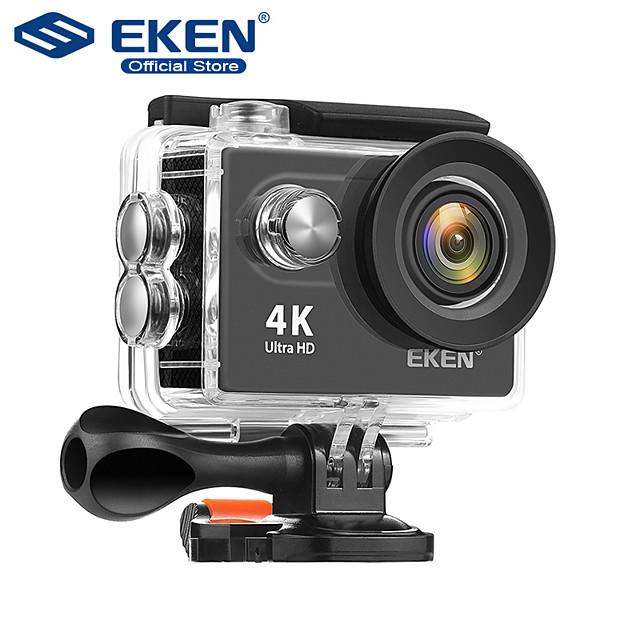 Eken H9R vlogging Back Case / Waterproof Case 64 GB 720P / 1080P / 2160P 12 mp No Recreational Cycling 2 inch 12 MP H.264 Single Shot / Burst Mode / Time-lapse 30 m +1 / -1 / +2
