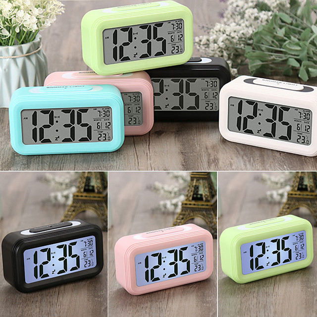 LITBest Smart alarm clock naozhong6 ABS White