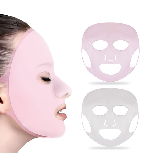Full Face Mask / Carrying / Easily Adjustable Makeup 1 pcs Silicon Beauty & Spa / Daily Daily Makeup / Halloween Makeup / Party Makeup Beauty Make face thinner Casual / Daily Cosmetic Grooming