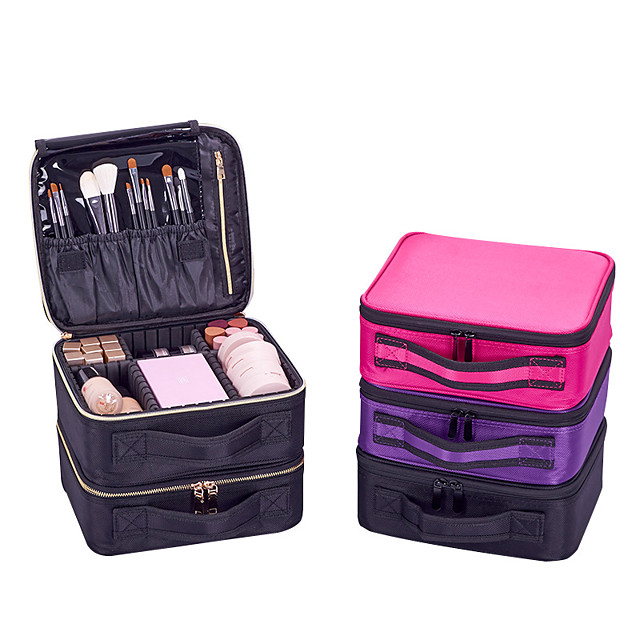 Fashionable Design / Easy to Carry / Easy to Use Makeup 1 pcs Cloth / Nylon Quadrate Universal Stylish Party Travel Storage Convenient Cosmetic Grooming Supplies