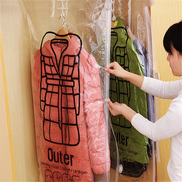 Plastic Rectangle New Design Home Organization, 1pc Vacuum bags