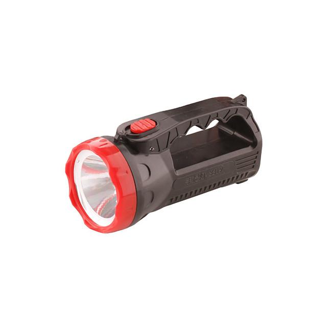 LED Flashlights / Torch 100 lm LED LED 12 Emitters 1 Mode Portable Camping / Hiking / Caving Everyday Use Cycling / Bike Black