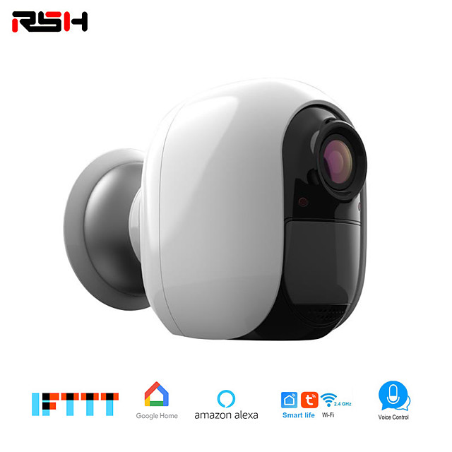 RSH Wifi 1080P Indoor Wireless Ip Security Monitoring System For Home / Baby / Pet Monitor With Night Vision Two-way Audio