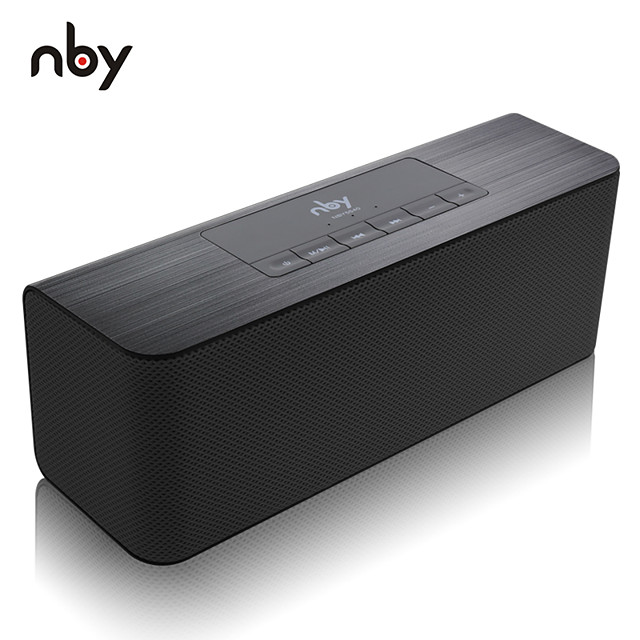 NBY 5540 Bluetooth Speaker Portable Wireless Speaker High-definition Dual Speakers with Mic TF Card Loudspeakers For PC