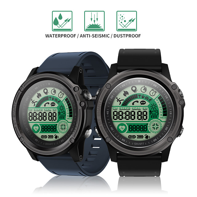 Indear S28 Men Women BT Smartwatch Android iOS Bluetooth 50m Waterproof Touch Screen Heart Rate Monitor Blood Pressure Measurement Sports Timer Stopwatch Pedometer Call Reminder Activity Tracker