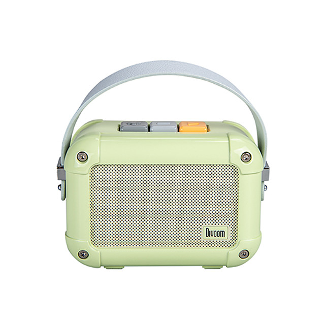 Divoom Macchiato Portable Wireless Bluetooth Speaker With FM Radio TWS Function Support IOS And Android System Have Gift Package