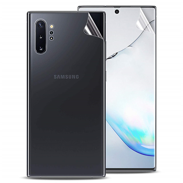 Ultra-thin front and rear TPU hydrogel protective film Samsung Note8 9 10 Note10Plus hydrogel protective film