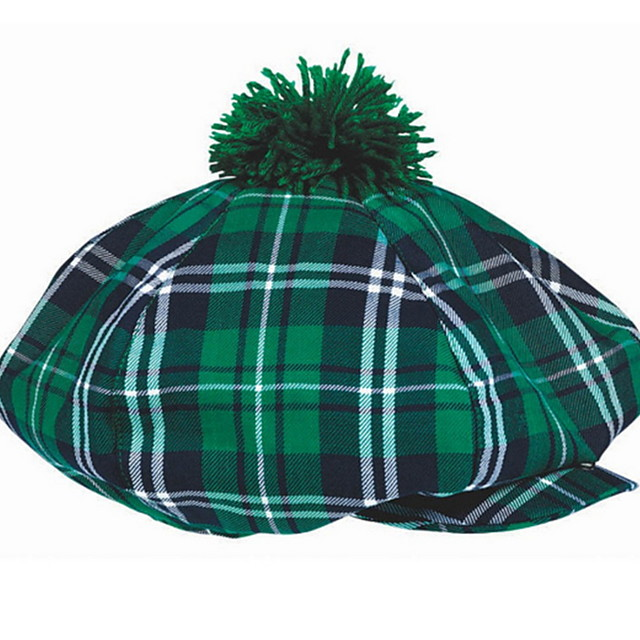 Kiss Irish Green Velour Party Cosplay ST Patrick's day Pride Costume Hat