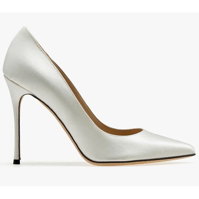 Women's Wedding Shoes Stiletto Heel Pointed Toe Synthetics Spring & Summer Silver