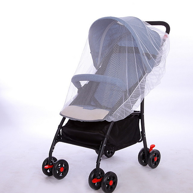 Mosquito Net for Baby Infants Stroller Pushchair Cart Mosquito Insect Net Safe Mesh Buggy Crib Netting
