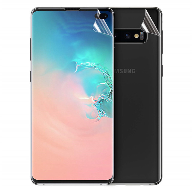 Ultra-thin front and rear TPU hydrogel protective film Samsung S8 / 9/10 Plus S10E hydrogel protective film
