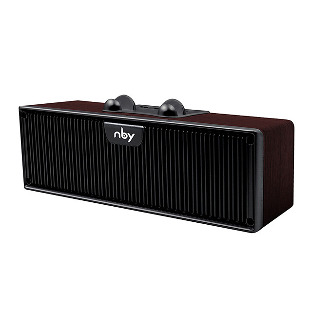 NBY 8820 Portable Bluetooth Speaker FM Radio Outdoor Wireless Speakers Subwoofer 3D Stereo Music Surround Loudspeaker Phone