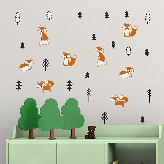 Decorative Wall Stickers - Plane Wall Stickers Animals Indoor / Kids Room