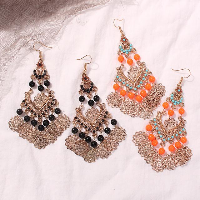 Earrings Masquerade Bohemian Boho Alloy For Gypsy Cosplay Halloween Carnival Women's Costume Jewelry Fashion Jewelry