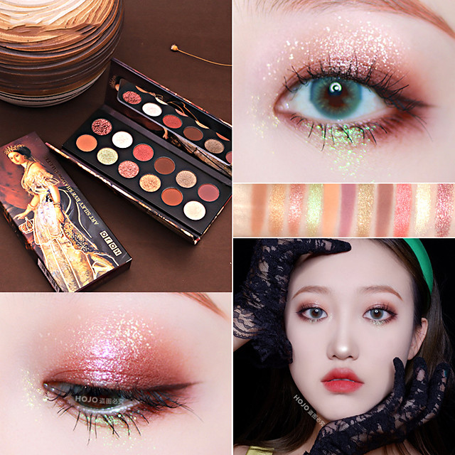 12 Colors Eyeshadow Matte Eye EyeShadow Cream Cute Kits Easy to Carry Women Easy to Use lasting Long Lasting Natural water-resistant Daily Makeup Halloween Makeup Party Makeup Cosmetic Gift