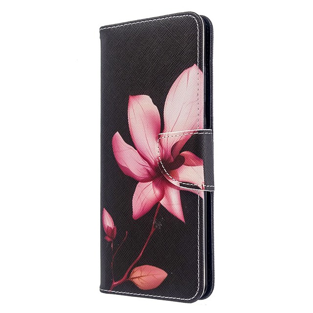 Case For Samsung Galaxy S20 Ultra / S20 Plus / S10 Plus Wallet / Card Holder / with Stand Full Body Cases Lotus Flower PU Leather Case For Samsung S9 / S9 Plus / S8 Plus / S10E /S7 Edge