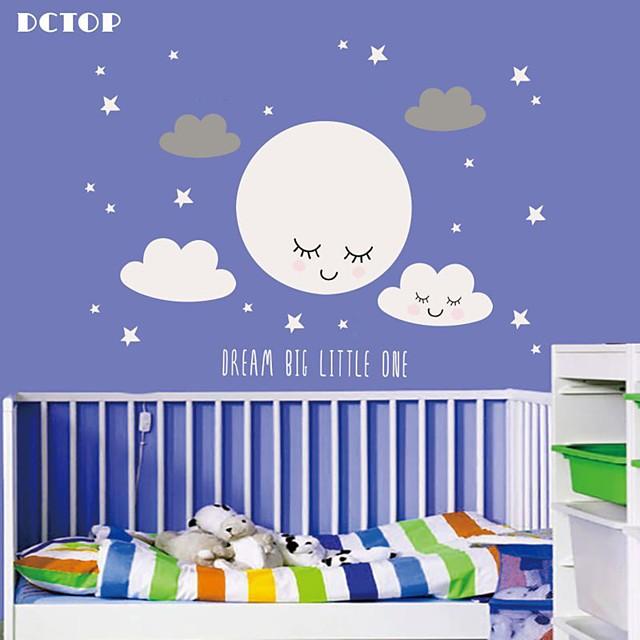 Decorative Wall Stickers - Plane Wall Stickers Stars Nursery / Kids Room