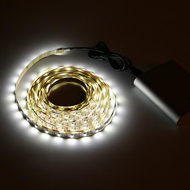 5m String Lights 300 LEDs SMD3528 8mm 1Set Mounting Bracket 1pc Warm White / White USB / Party / Decorative USB Powered