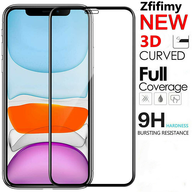 Tempered Glass Screen Protector For iPhone 11 Pro glass on iPhone XR X XS Max Protective Film For iPhone 11 Pro Max glass