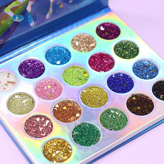 20 Colors Eyeshadow Matte Eye EyeShadow Cream Kits Easy to Carry Easy to Use lasting Shimmer glitter gloss Long Lasting water-resistant Daily Makeup Party Makeup Fairy Makeup Cosmetic Gift