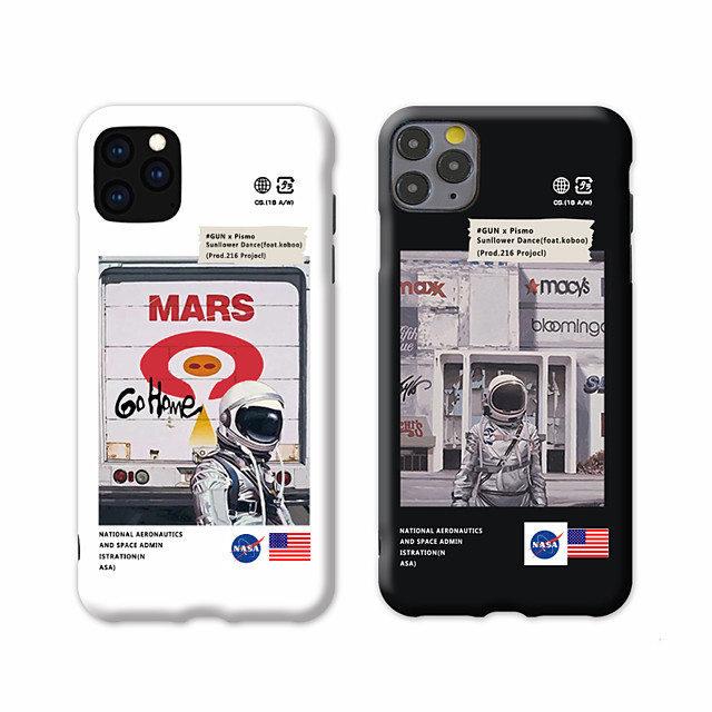 Case For Apple iPhone 11 / iPhone 11 Pro / iPhone 11 Pro Max Shockproof / Dustproof / IMD Back Cover Cartoon TPU
