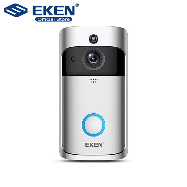 EKEN V5 Smart WiFi Video Doorbell Camera Visual Intercom With Chime Night vision IP Door Bell Wireless Home Security Camera