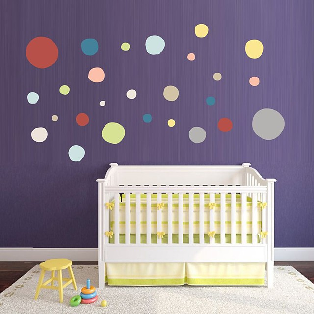 Decorative Wall Stickers - Plane Wall Stickers Shapes Nursery / Kids Room
