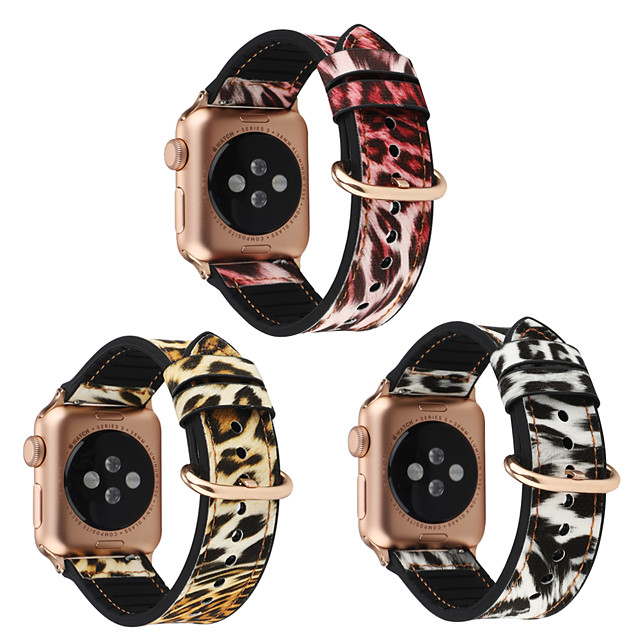 Watch Band for Apple Watch Series 4 / Apple Watch Series 3 / Apple Watch Series 2 Apple Sport Band Genuine Leather Wrist Strap