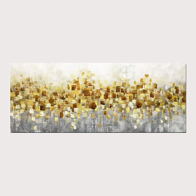 Modern Abstract Oil Painting 100% Hand Painted Decorative Artwork on Canvas with Stretched Frame for Wall Art