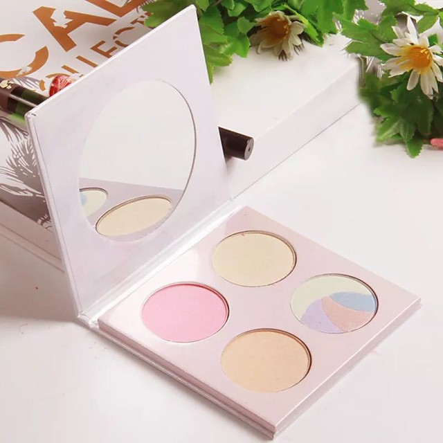 4 Colors Eyeshadow Matte Eye Highlighter EyeShadow Kits Easy to Carry Easy to Use lasting Shimmer glitter gloss Long Lasting water-resistant Daily Makeup Halloween Makeup Party Makeup Cosmetic Gift