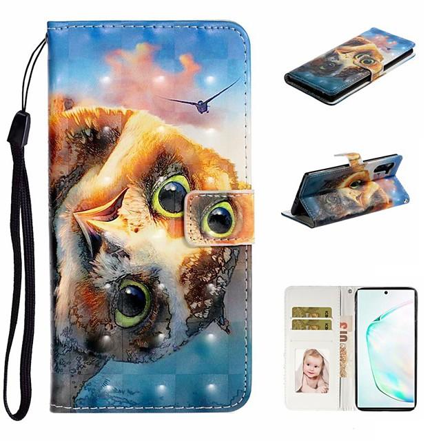 Case For Samsung Galaxy A6 (2018)/A7(2018) / A8 2018 Wallet / Card Holder / with Stand Full Body Cases Animal PU Leather For Galaxy A10S/A20S/A30S/A50S/Note 10 Plus/J6 Plus/J4 Plus/Note 10