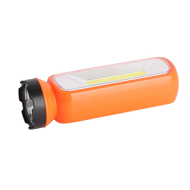 LED Flashlights / Torch 200 lm LED LED 1 Emitters Portable Camping / Hiking / Caving Everyday Use Cycling / Bike Orange Red Green