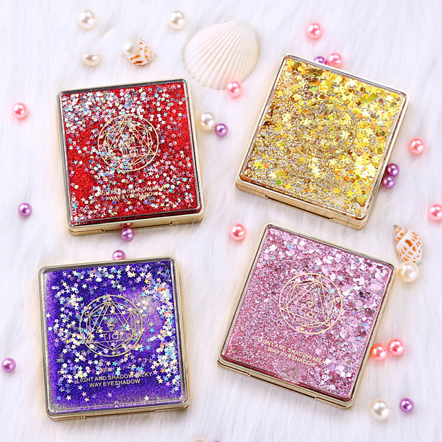 9 Colors Eyeshadow Matte Eye EyeShadow Cream Kits Easy to Carry Women Adorable lasting Shimmer glitter gloss Long Lasting water-resistant Daily Makeup Halloween Makeup Party Makeup Cosmetic Gift