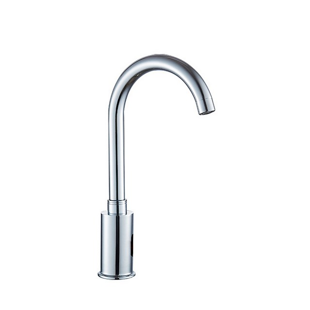 Bathroom Sink Faucet - Touch / Touchless Electroplated Centerset Single Handle One HoleBath Taps