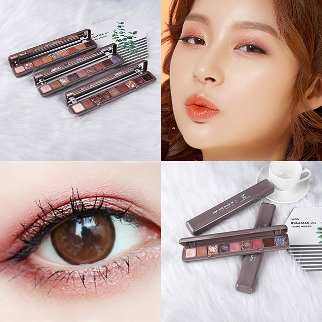 9 Colors 16 Colors Eyeshadow Eye EyeShadow Cream Kits Easy to Carry Easy to Use lasting Long Lasting Natural water-resistant Daily Makeup Party Makeup Fairy Makeup Cosmetic Gift