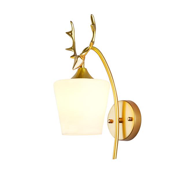 Creative Vintage / Nordic Style Wall Lamps & Sconces / LED Wall Lights Bedroom / Shops / Cafes Metal Wall Light 110-120V / 220-240V